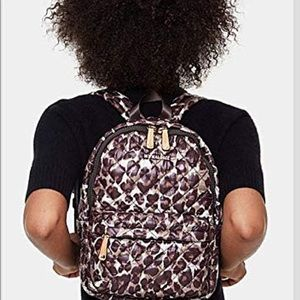 MZ WALLACE| small leopard backpack